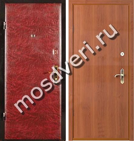 двупольные металлические двери 3 класса