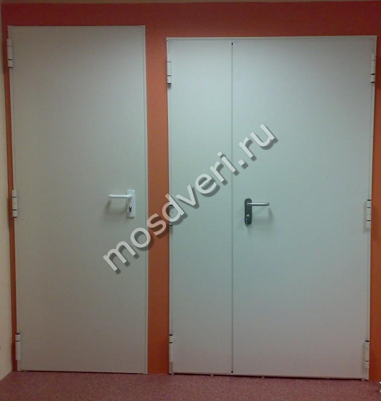металлические двери эконом с шумоизоляцией