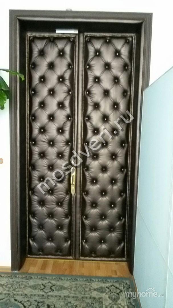 Декоративная обшивка двери