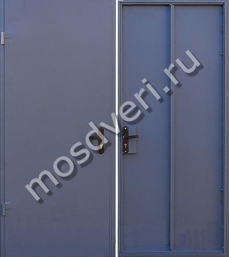 недорогие металлические двери для технических помещений