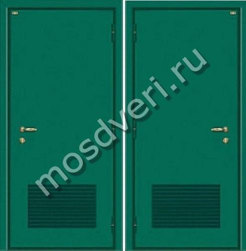 металлические двери техническое помещение