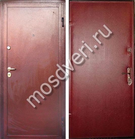 железные входные двери эконом с порошковым напылением купить в москве