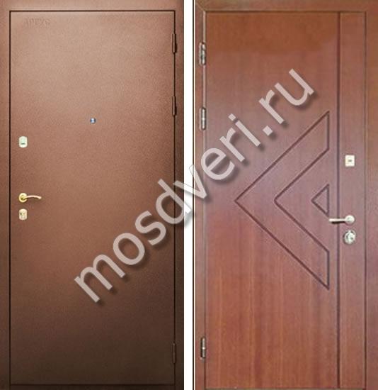 стальные двери с порошковым напылением тамбурные недорого