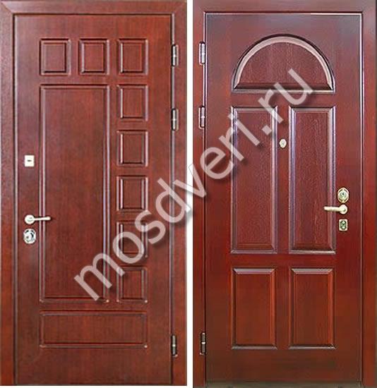 металлическая входная дверь в шатуре