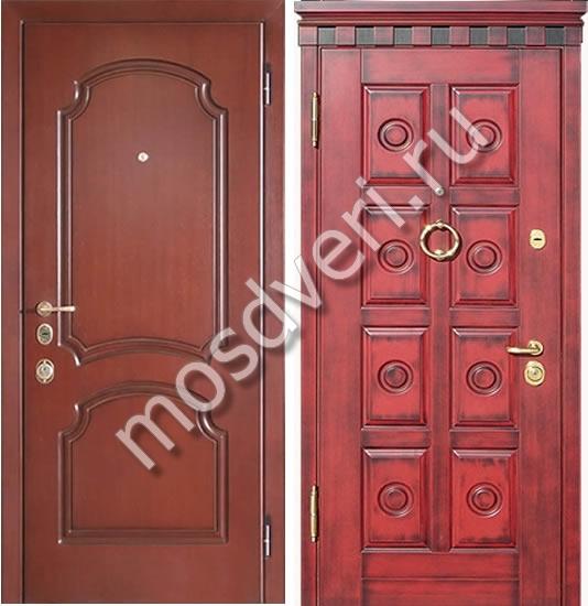 двери входные металлические уличные в парадную