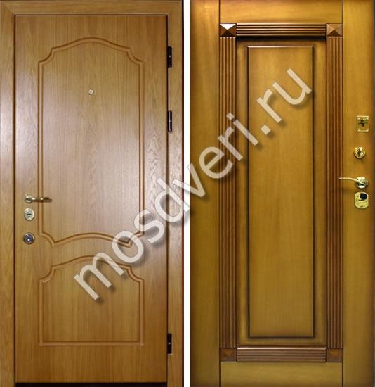 металлические двери под массив