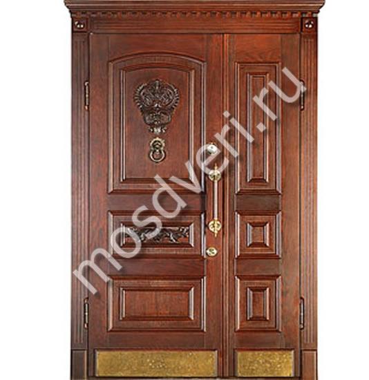 элитные парадные двери входные двустворчатые двери