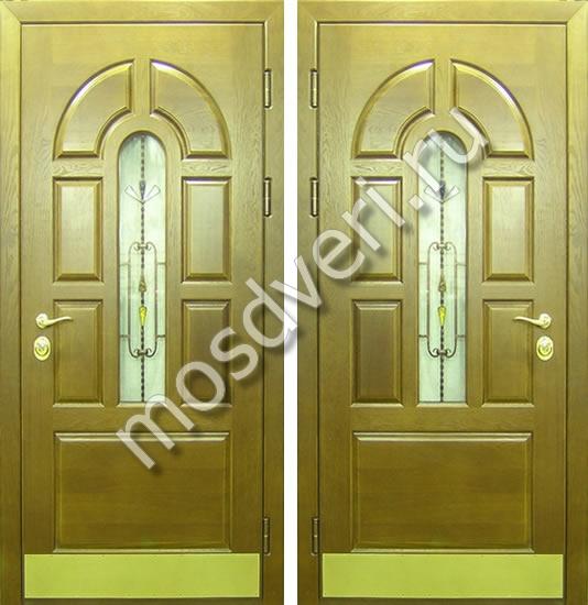 входные филенчатые двери преимущества