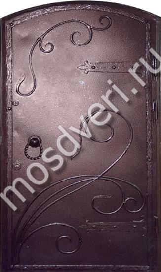 арочные металлические двери в дзержинске