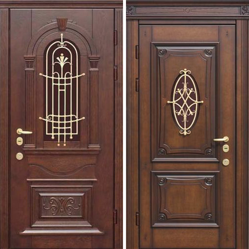 входные двери массив дуба на заказ