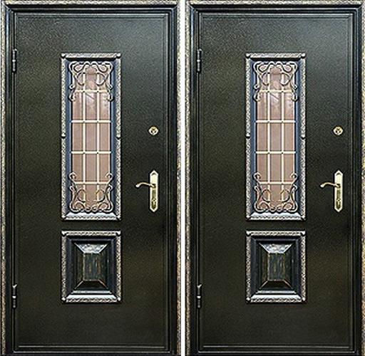 входные двери со стеклом ногинск