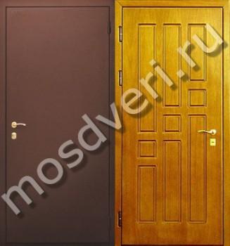 стандартные входные двери в квартиру