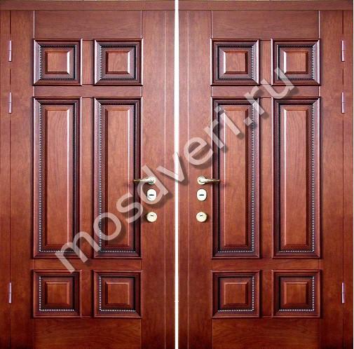 элитные входные двери отделка шпоном