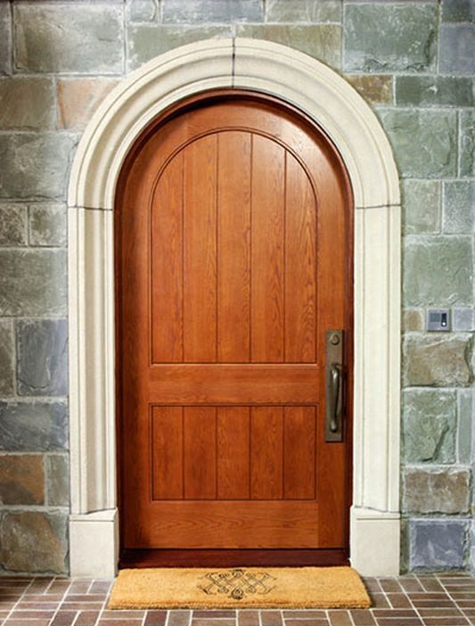 арочная входная дверь цена