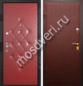 входные дутые двери