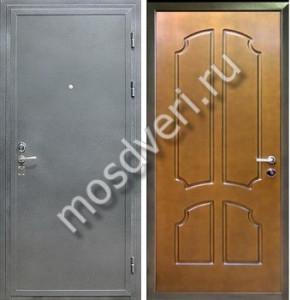 металлические двери с порошковым напылением мдф