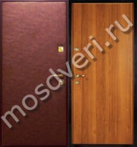 двери входные двустворчатые экономкласса